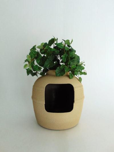 Desert Tan Green Ivy Bush Hidden Litter Box